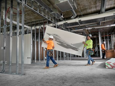 The Industry's Lightest Drywall.