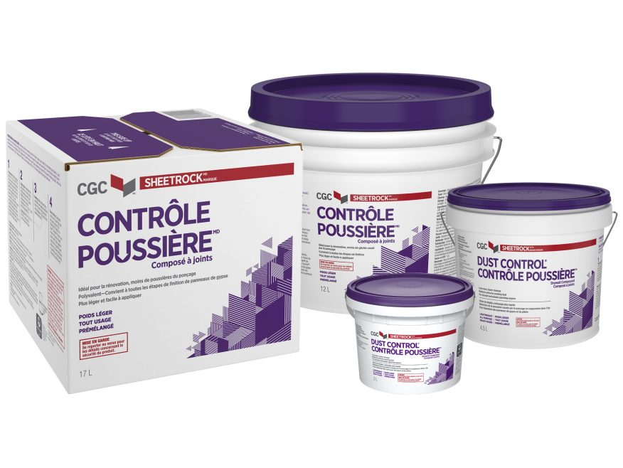 Dust Control Compound : Canada products solutions finishing synko brand
