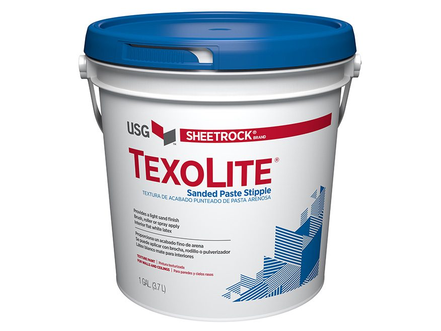 Sheetrock 174 Brand Texolite 174 Sanded Paste Stipple Usg