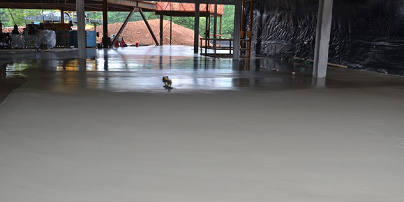 Concrete Finishing System