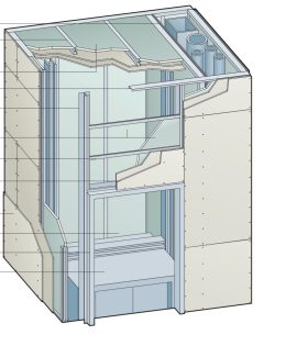 Shaft Wall Limiting Heights Amp Spans