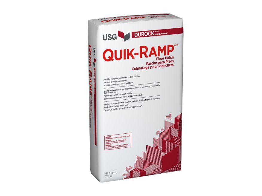 Durock Brand Quik Ramp Floor Patch Usg