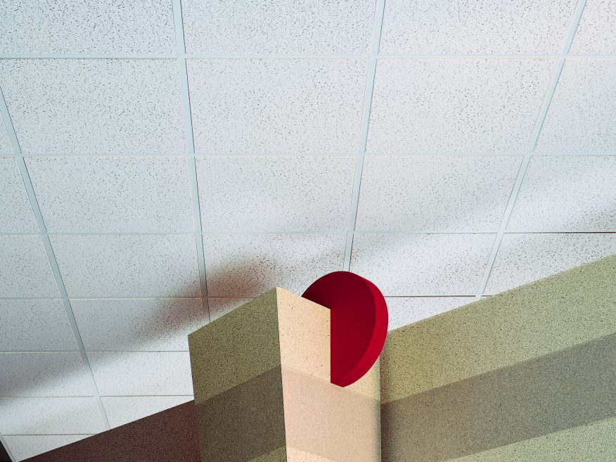 Fissured Basic Firecode Acoustical Ceiling Panels Ceiling Panels