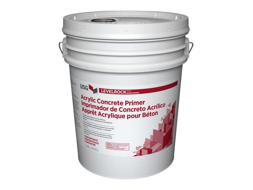 Levelrock Acrylic Concrete Primer Usg