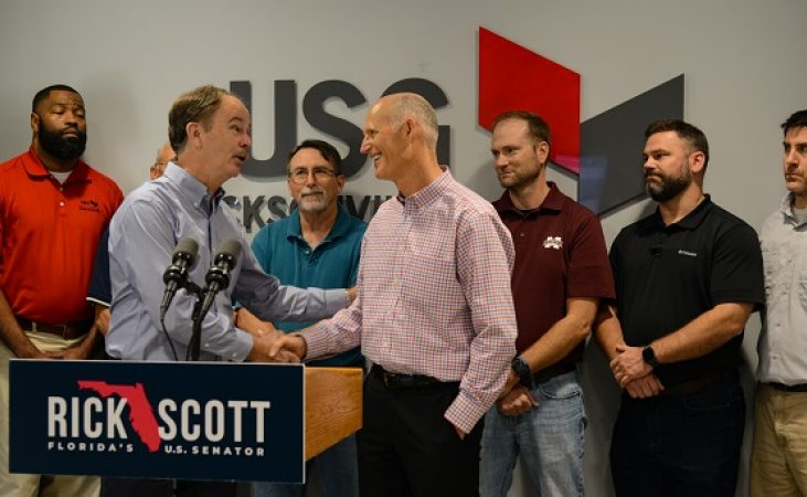 Jacksonville Plant Welcomes Regional Manufacturing Association and U.S. Senator