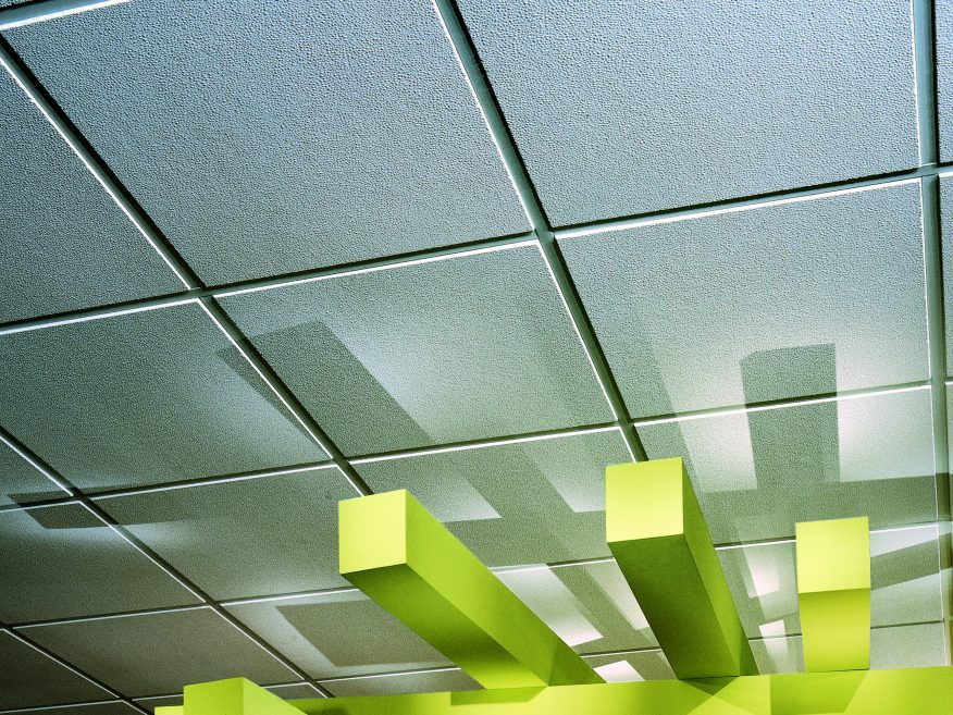 Pebbled Acoustical Panels For Added Sustainability