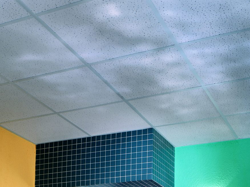 Radar Ceramic Acoustical Panels Acoustical Ceramic Ceiling Panels - 2x2 act ceiling