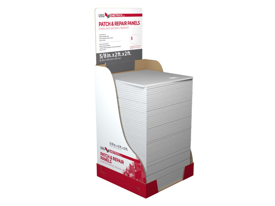 Sheetrock 174 Brand Gypsum Repair Panels