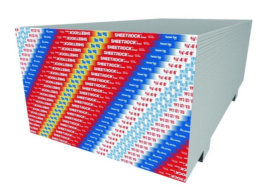 Sheetrock Brand Firecode X Gypsum Panels Usg
