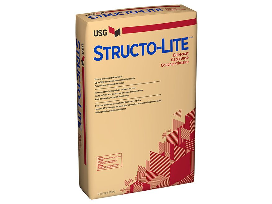 Structo Lite 174 Basecoat Plaster Usg