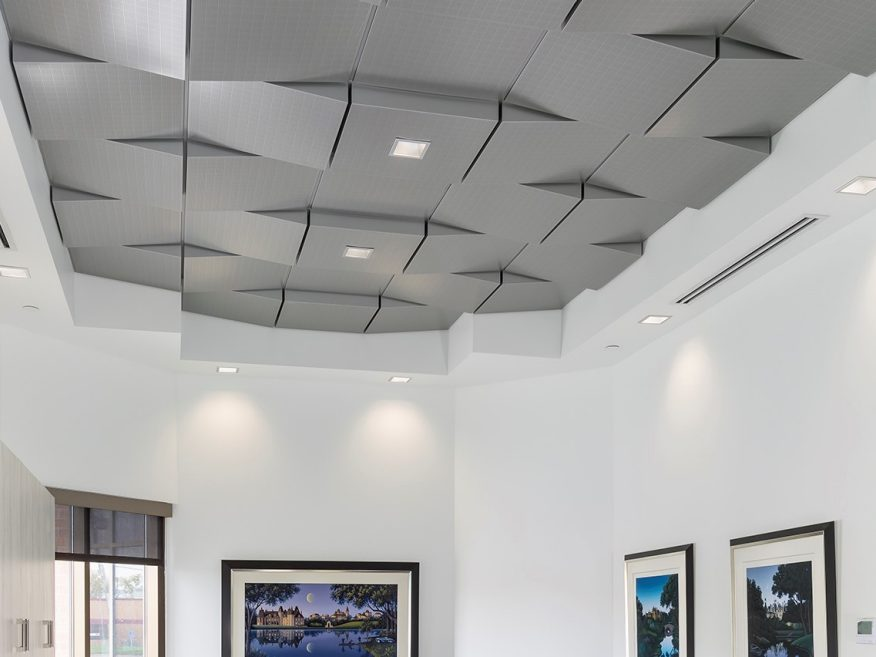 Geometrix 3 Dimensional Metal Ceiling Panels 3d Metal