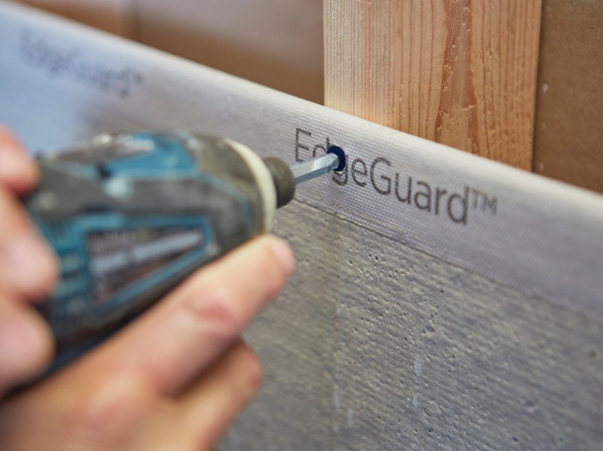 Durock 174 Brand Cement Board With Edgeguard Usg
