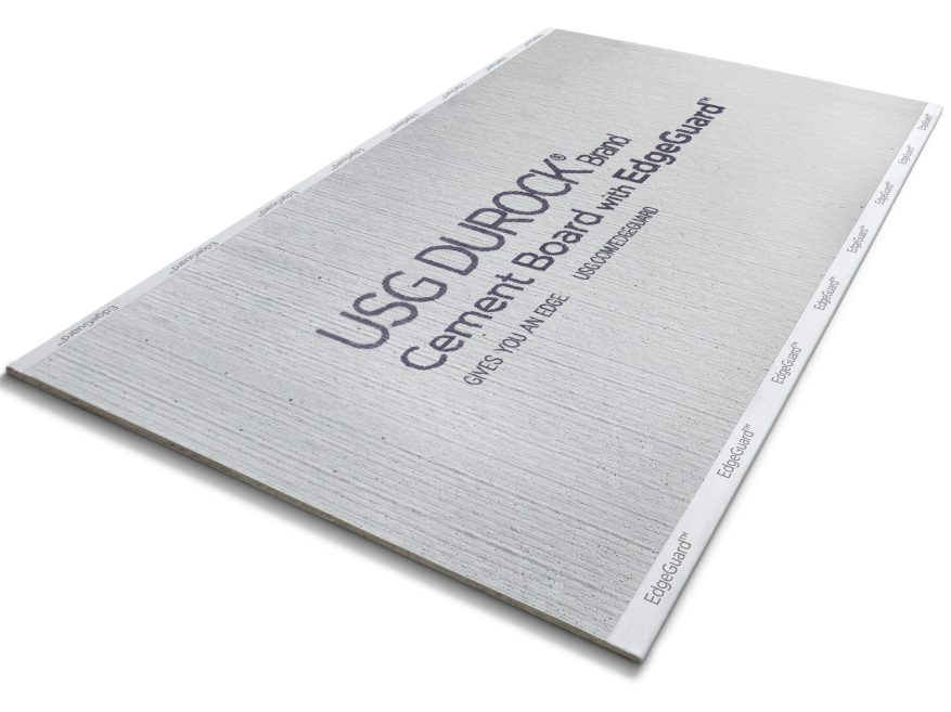 Durock® Brand Cement Board with EdgeGuard™ | USG