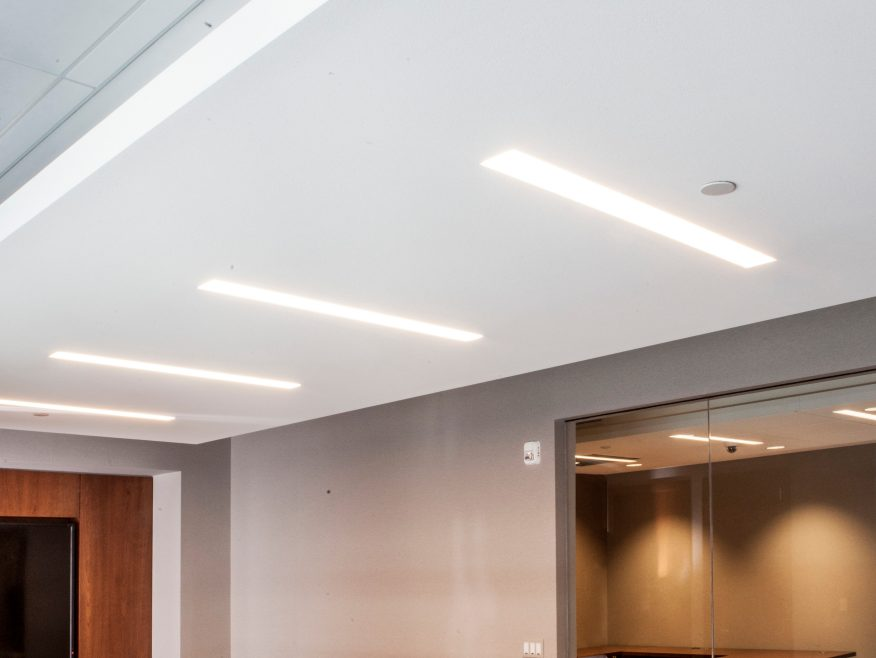 Ensemble Acoustical Drywall Ceiling USG
