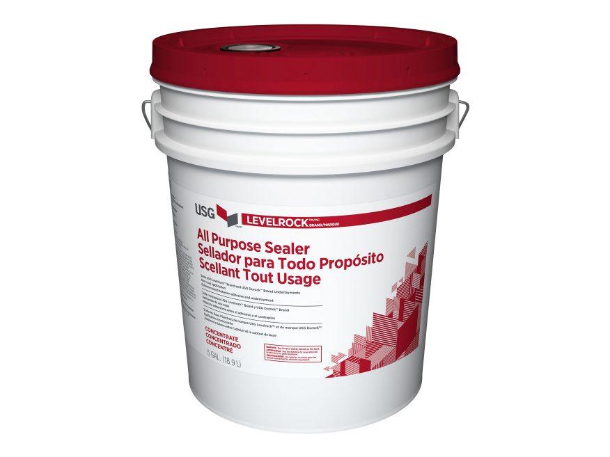 Levelrock Brand Floor Underlayment All Purpose Sealer Usg