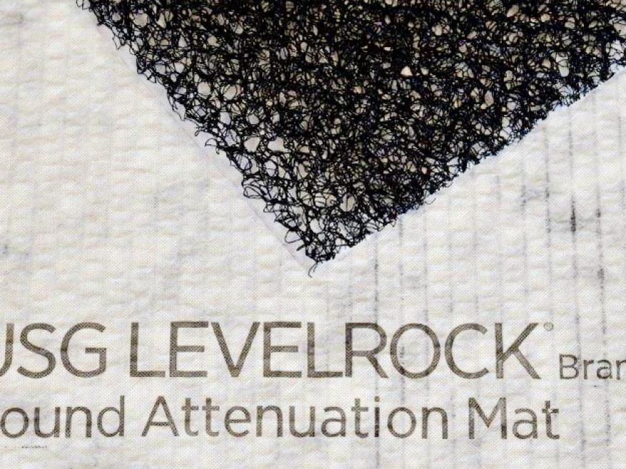Levelrock Brand Sam N75 Sound Attenuation Mat Usg