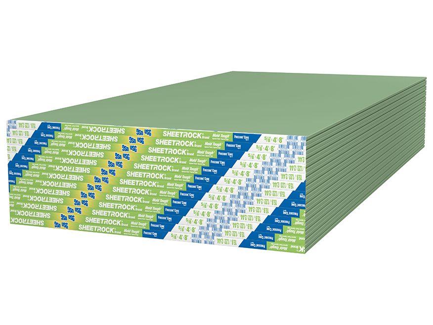 Sheetrock Brand Mold Tough Firecode C Panels